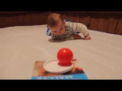 Teach Baby To Crawl For First Time
