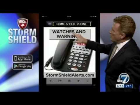 Meteorologist Mike Nelson introduces Storm Shield Phone Call Alerts