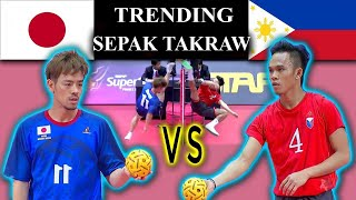 Sepak Takraw Philippines Vs Japan Full Game HD