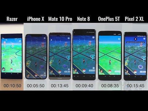 Speed Test: Razer Phone vs iPhone X vs OnePlus 5T vs Note8 vs Pixel 2XL vs Mate 10 Pro