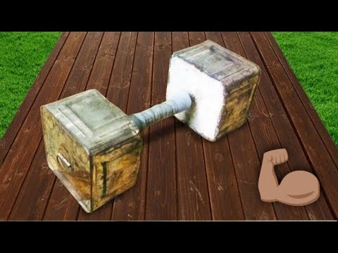 How To Make A big Dumbbell In Low cost (Easy)
