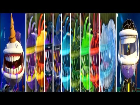 Plants vs  Zombies: Garden Warfare 2 - All 11 Chompers Gameplay!