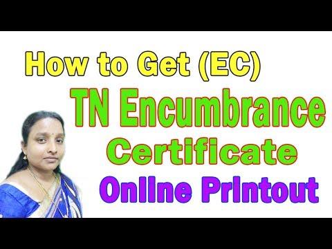 How to Download Tamil Nadu Encumbrance Certificate (EC View) Online in Tamil