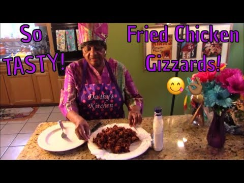 FRIED CHICKEN GIZZARDS! GUARANTEED DELICIOUSNESS!