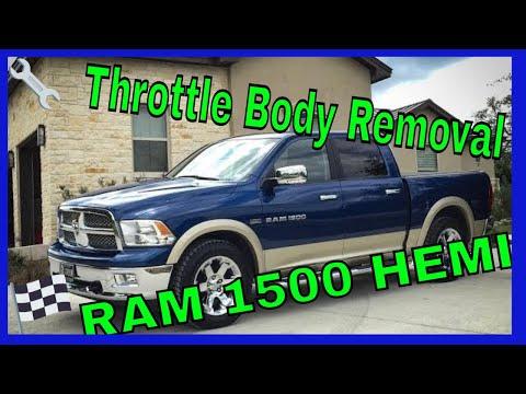DIY Throttle body removal for 2011 Ram 1500 Hemi