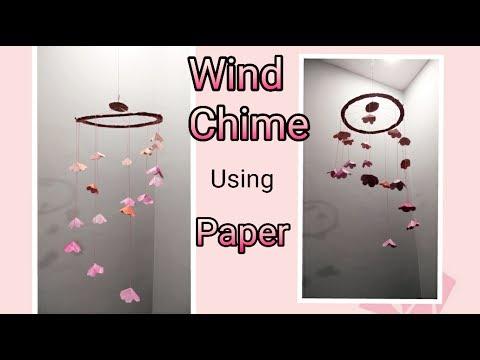 DIY Paper Wind Chime | Enjoy Crafting # 64