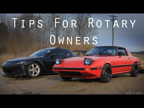 Tips For First Time Rotary Owners