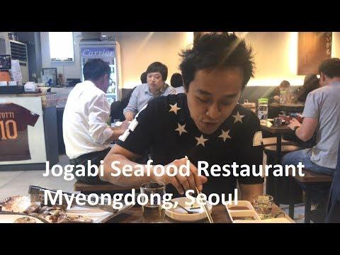 Food VLOG - Seafood BBQ - Seoul