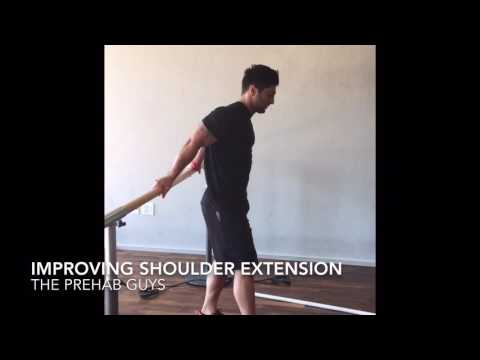 Improving shoulder extension range of motion