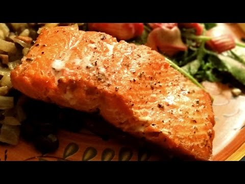 Salmon Recipe - Best Crispy Skin Salmon