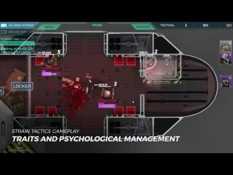 Strain Tactics Gameplay #6a: Traits and Psychological Management