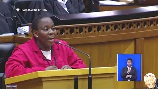 "EFF MP Makes ""Ginger"" Lindiwe Zulu Very Angry. Funny"