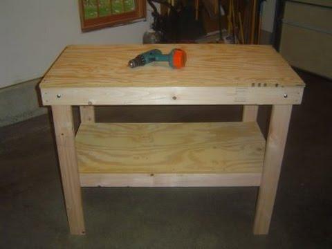 Build a Garage Workbench Video