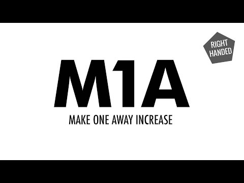 The Make One Away Increase (M1A) :: Knitting Increase :: Right Handed