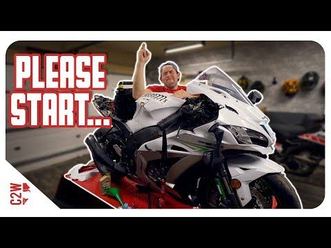 Will the bike even crank?! [Wrecked Bike Rebuild - S2 - Ep 04]