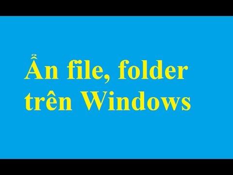 Thiết lập ẩn - hiện file, folder trên Windows 7/8 - http://taimienphi.vn