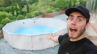 BUYING A SWIMMING POOL!