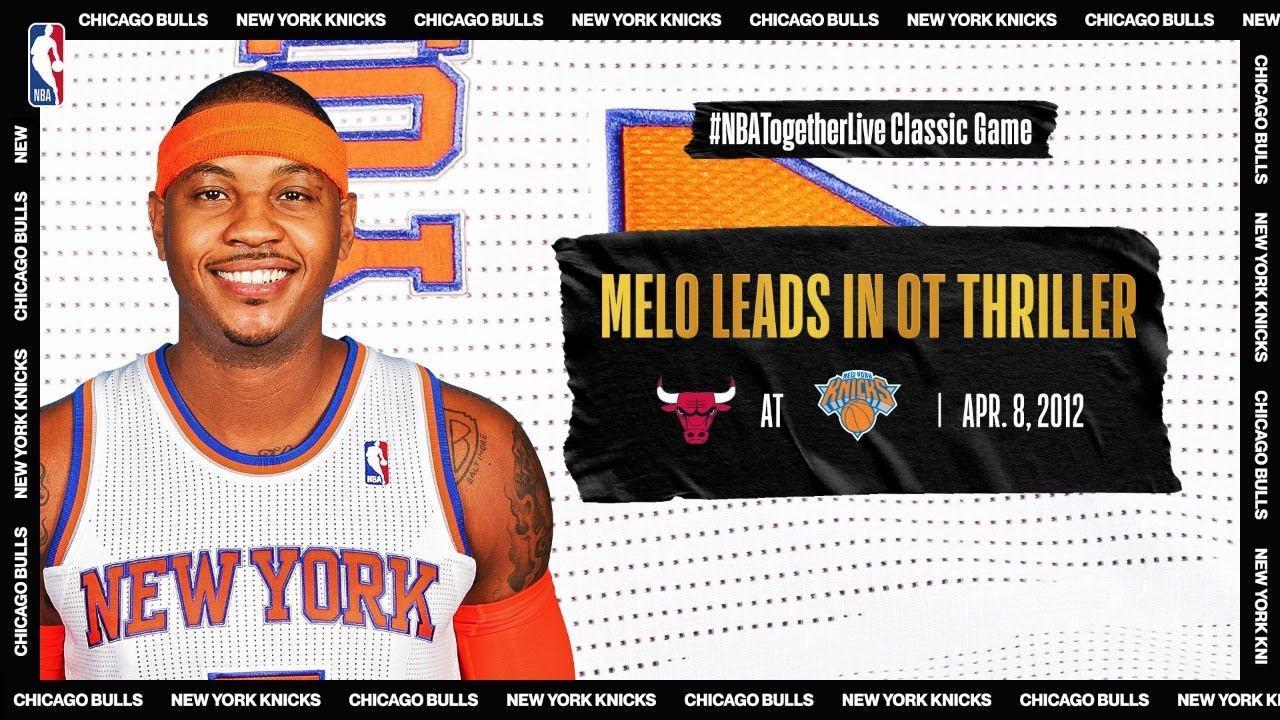 Carmelo Anthony & Derrick Rose Duel in Easter Sunday OT Thriller | April 8, 2012 | #NBATogetherLive