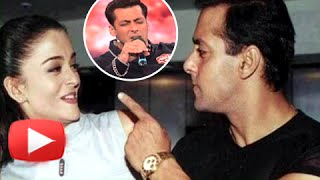 OMG! Salman Khan Sings For Aishwarya Rai Bachchan | Bigg Boss 9 Launch