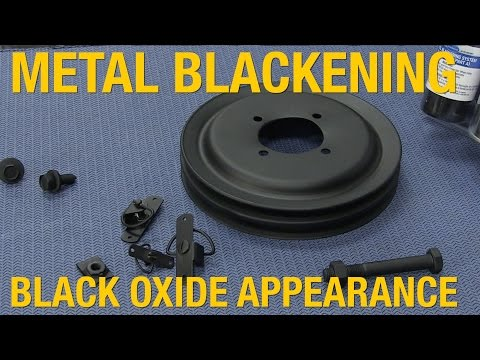 How To Achieve OEM Black Oxide Coating Appearance - Metal Blackening System from Eastwood