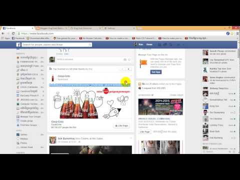 how to change font khmer in facebook