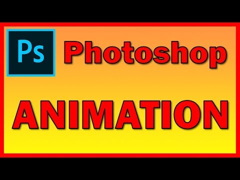 How to draw and create a GIF Animation in Adobe Photoshop CC