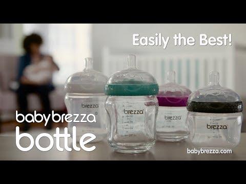 Baby Brezza, 2-Part Natural Baby Bottle