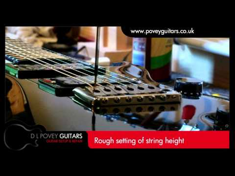 PRS Guitar setup
