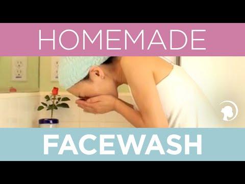 How to Make a Natural Homemade Facewash http://faceyogamethod.com/ - Face Yoga Method
