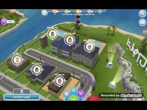 Sims free play bird feeding