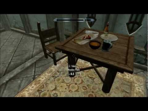 Skyrim - Hearthfire #2 - Building the house (Drafting, Smithing, Building)