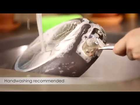 How to clean All Clad E785S264 HA1 Hard Anodized Nonstick Dish