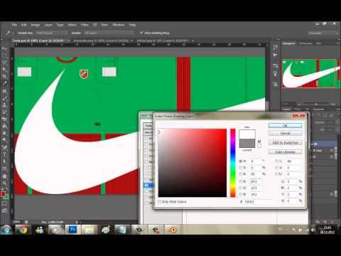 PES 2013 Kit Making Tutorial by Onur Çetin