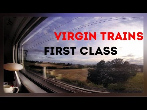 Virgin Trains First Class, Pendolino Trip Report - Birmingham New Street to London Euston