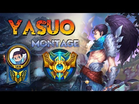 Yasuo Montage - Best Yasuo Plays S7 - Yasuo Pentakill Compilation - League of Legends