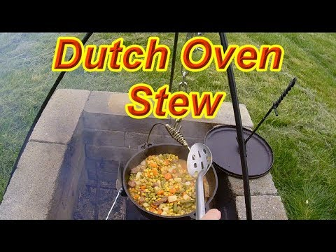 How to make Dutch Oven Stew