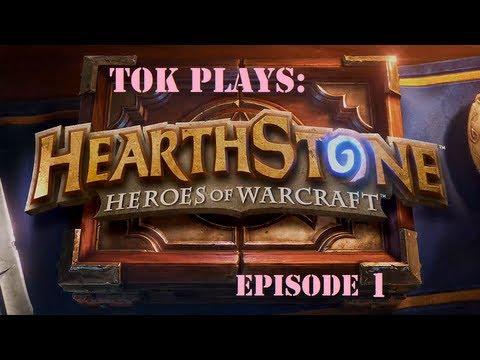 Tok plays Hearthstone - episode 1 - Mage Extraordinaire
