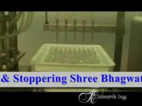 Prefill Syringe Filling & Stoppering Machine