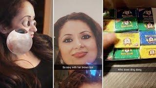 Faryal Makhdoom | Snapchat Videos | April 20th 2017
