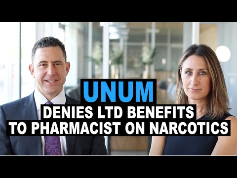 Unum Denies LTD Benefits to Pharmacist on Narcotics and Oklahoma Court Reverses
