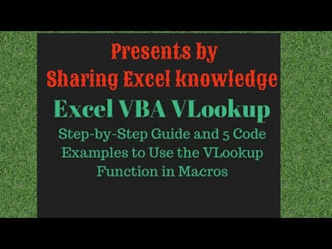 VLOOKUP function using VBA in Microsoft Excel for Multiple columns