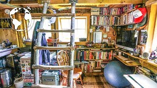 Teenager Builds Off Grid Tiny House (80% Recycled Material)