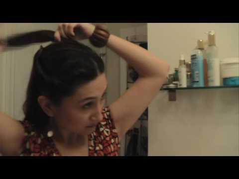 Romantic Princess-inspired hair