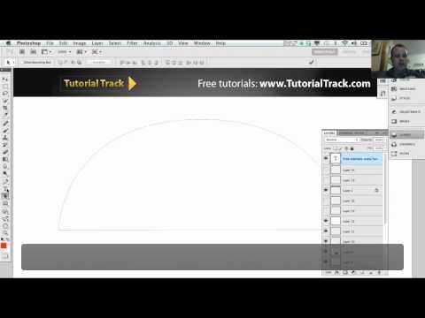 Path and Pen tool in Adobe Photoshop - Tutorial 2 of 7