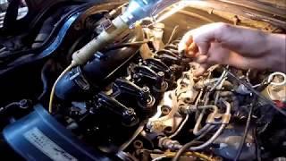 Замена термостата, прокладки клапанной крышки Delica квадрат
