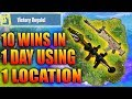 BEST Place To LAND For EASY WINS and LOOT (Fortnite How To Win Tips) - Daryus P