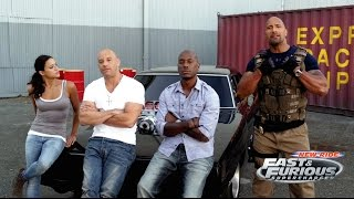 Making of Fast & Furious Ride - New