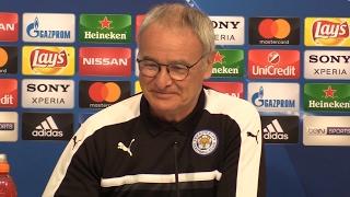Claudio Ranieri Full Pre-Match Press Conference - Sevilla v Leicester City - Champions League
