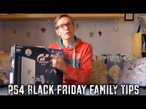 PS4 Family Black Friday Tips