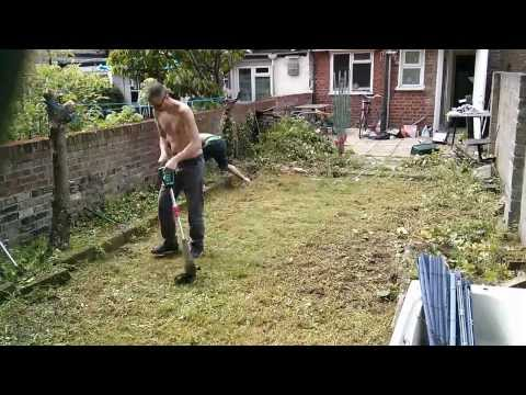 How to clean a garden in 6 minutes